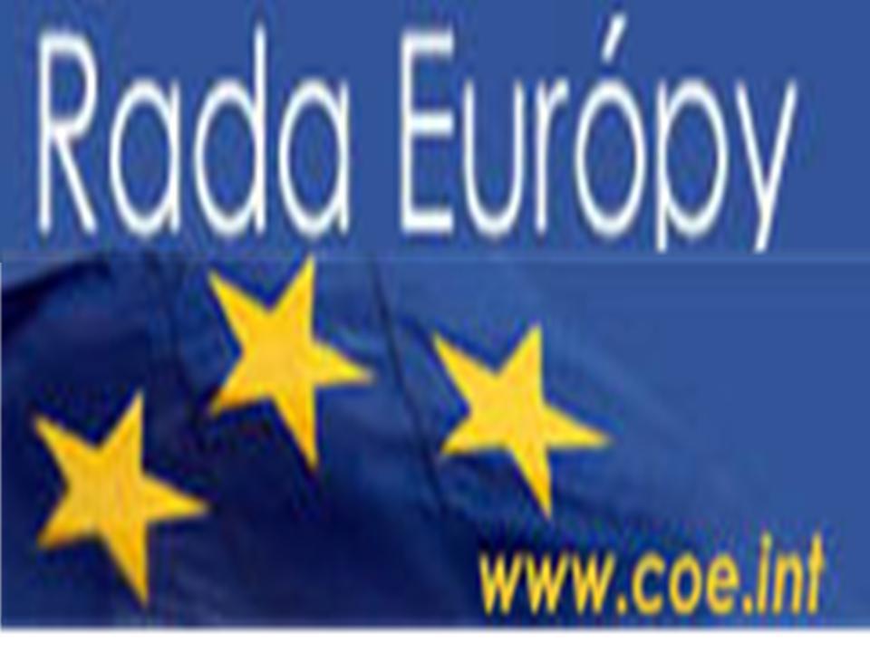 aktívny odkaz na Radu Európy