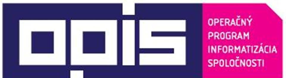 Operačný program informatizácia spoločnosti
